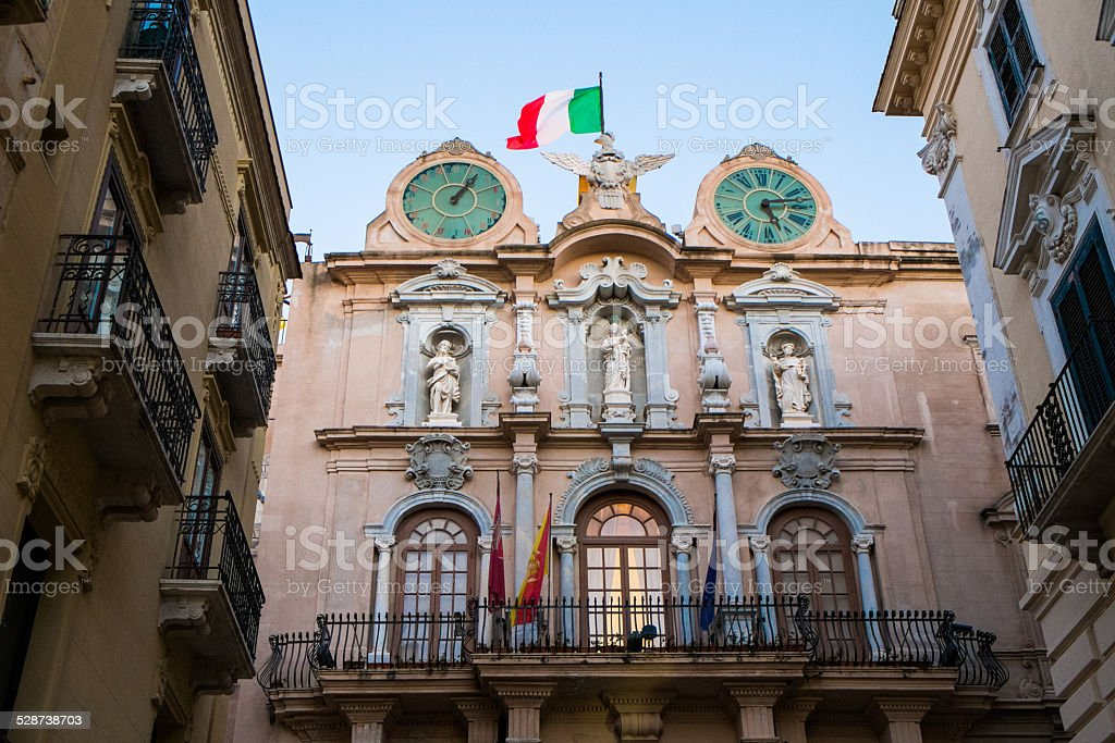 Trapani stock photo