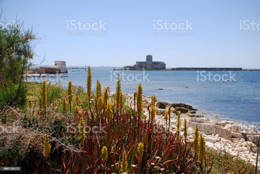 Trapani Sicilia - Royalty-free Coastline Stock Photo