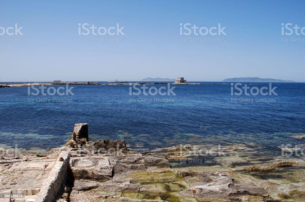 Trapani Sicilia - Royalty-free Ao Ar Livre Foto de stock