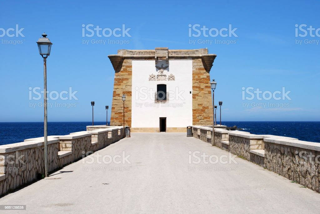 Trapani Sicilia - Royalty-free Architecture Stock Photo