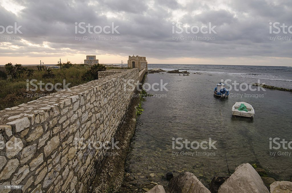 Trapani, Sicily royalty-free stock photo