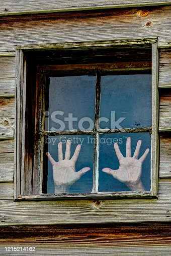 istock Trapped Hands 1215214162