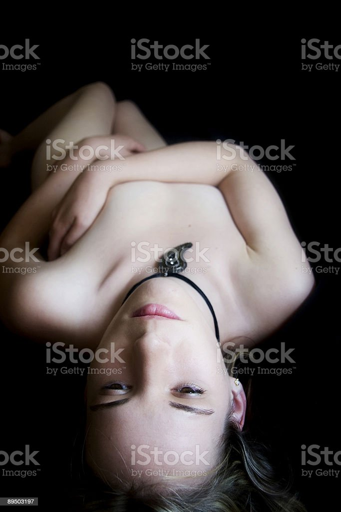 Trapped in Black royalty-free stock photo