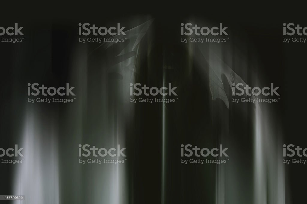 Trapped in her nightmares royalty-free stock photo