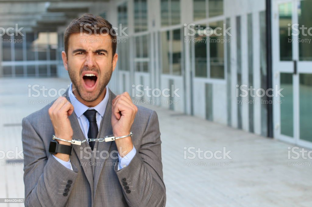 office space pic. Trapped Man In Office Space Royalty-free Stock Photo Pic E