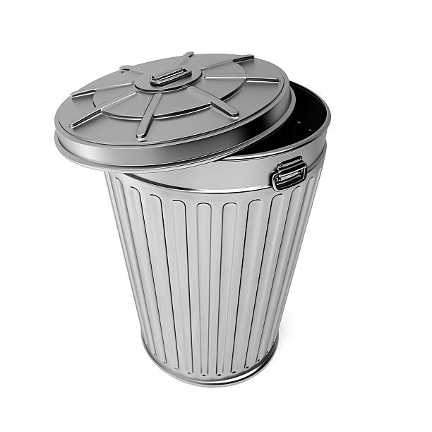 Aluminum Trash Cans With Lids : Royalty free garbage can lid pictures images and stock