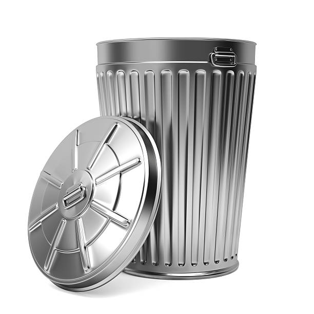 Royalty Free Metal Trash Can Lid Pictures Images And