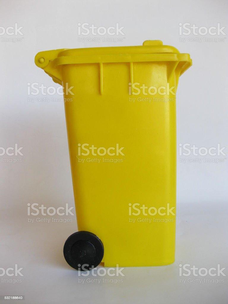 Trash cubes. stock photo