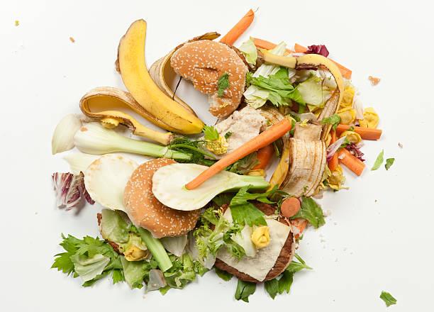 trash - food waste bildbanksfoton och bilder