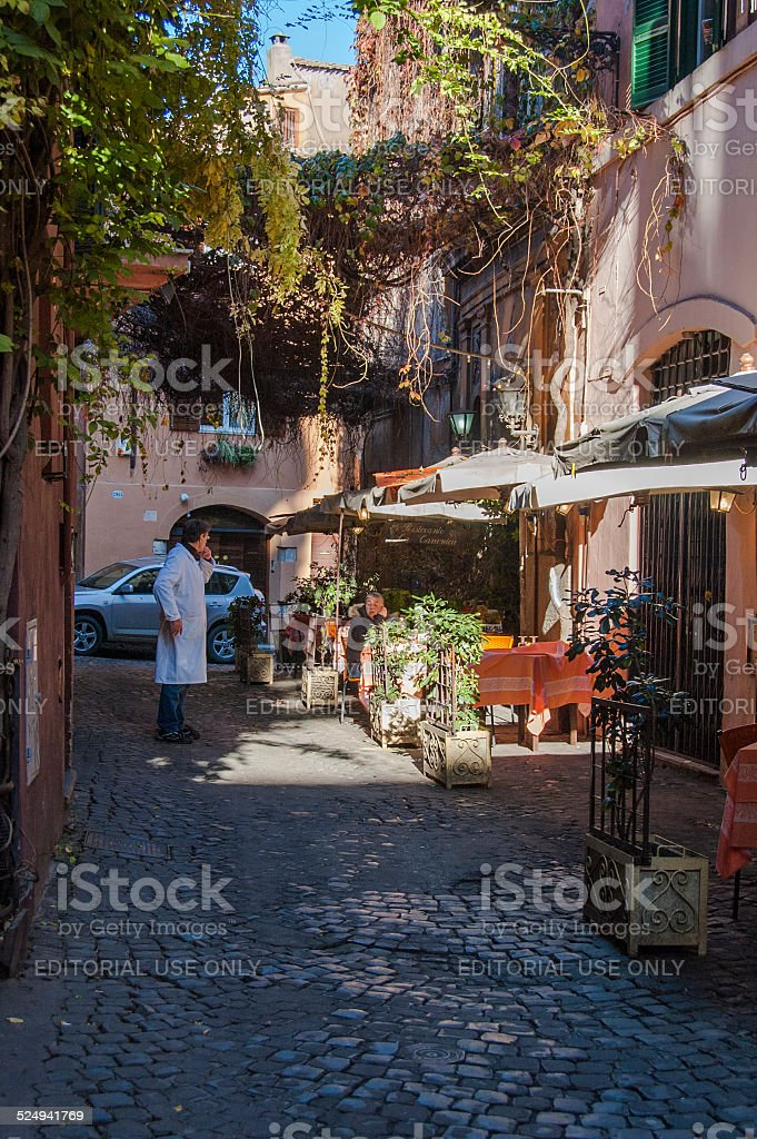 Trastevere stock photo
