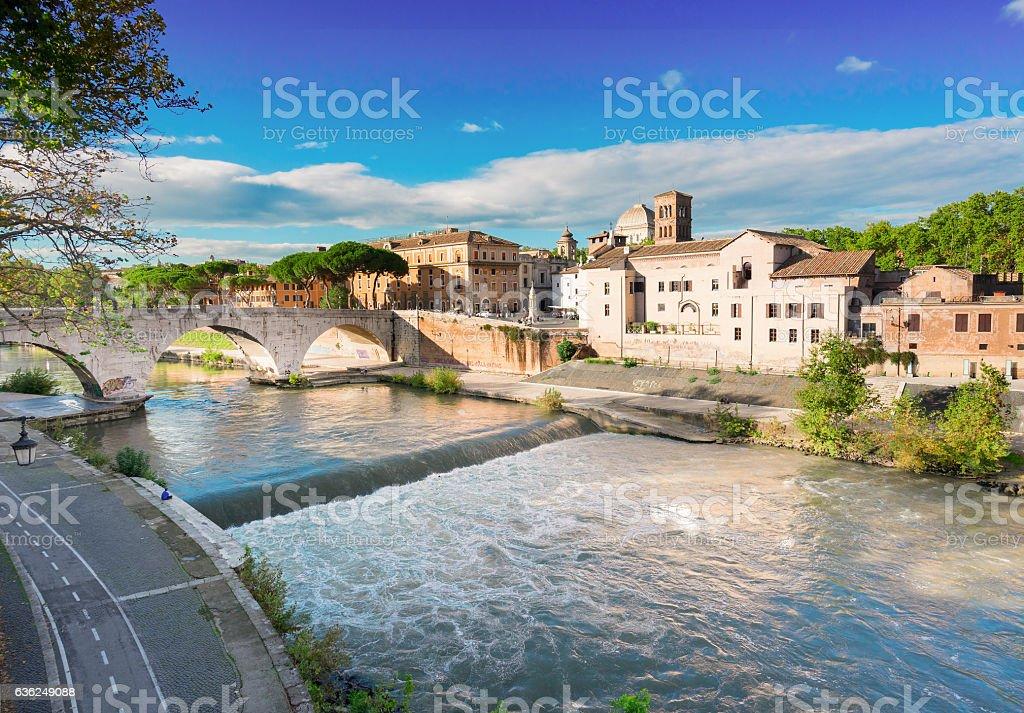 Trastevere, Rome, Italy stock photo