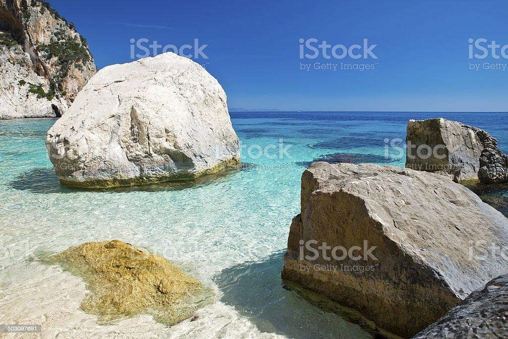 Traumbucht in Sardinien stock photo