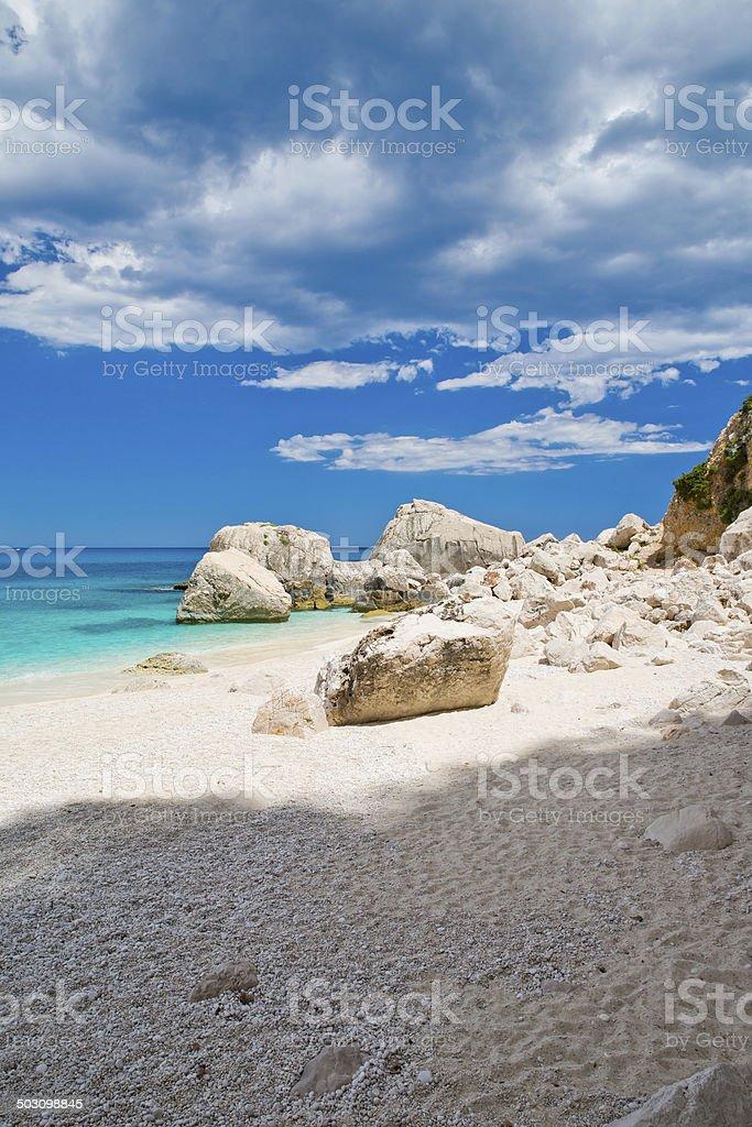 Traumstrand Sardinien stock photo