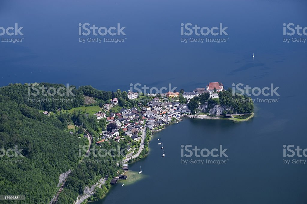 Traunkirchen stock photo