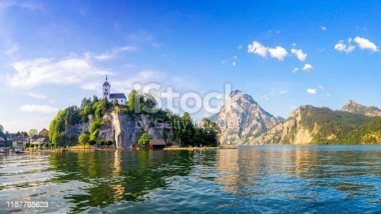 istock Traunsee lake in Alps -Salzburg, Salzburger Land 1157765623