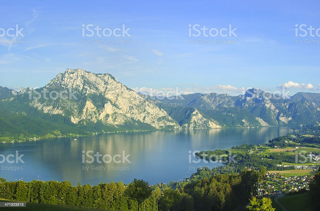 Traunsee stock photo