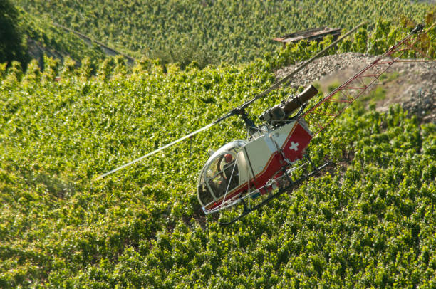 Travail Avec l'Hélicoptère – Foto