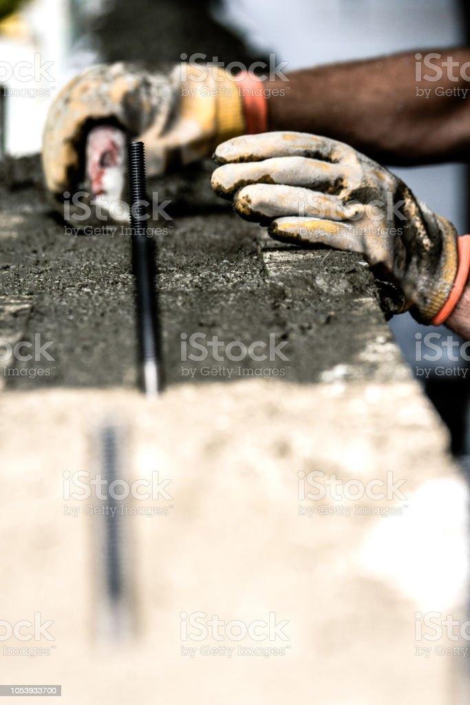 Travail en béton - Photo