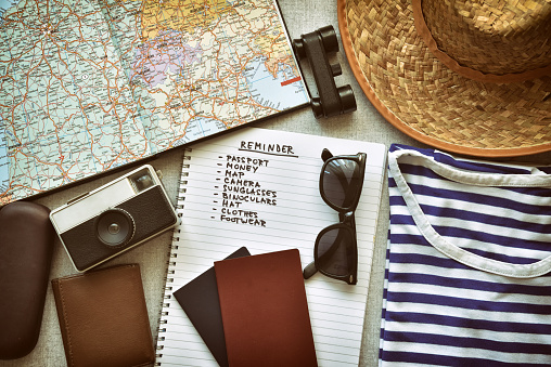 Travel Accessories Stock Photo - Download Image Now