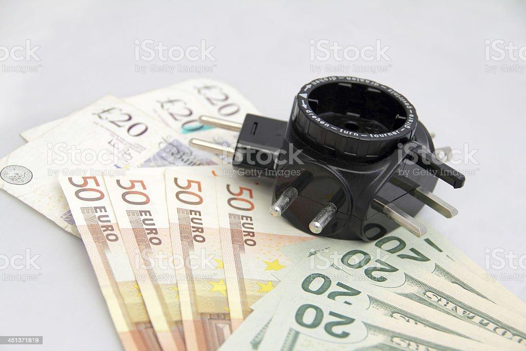 travel adapter stock photo