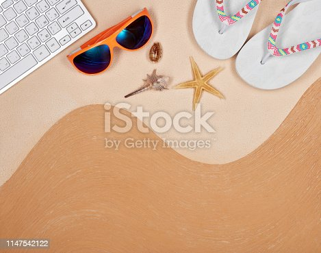 istock Travel agency. 1147542122
