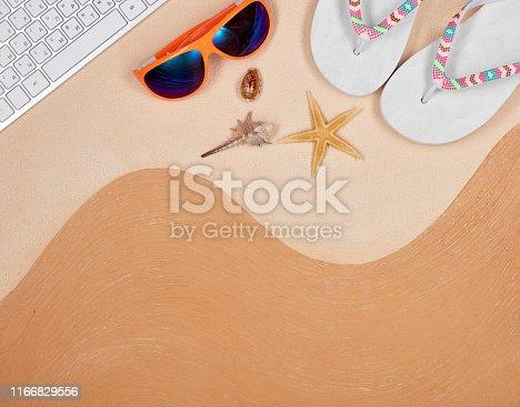 istock Travel agency. 1166829556