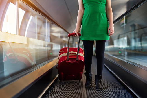 Travel And Carrying Luggage Stock Photo - Download Image Now
