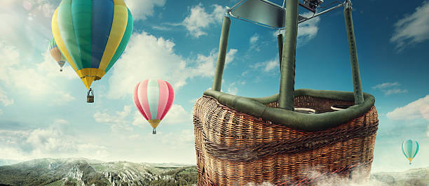 Royalty Free Hot Air Balloon Basket Pictures, Images and ...