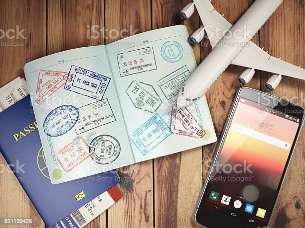 Travel and tourism concept passport with visas and boarding pas picture id621139426?b=1&k=6&m=621139426&s=612x612&h= jx9gltsxjaeqcpuhc6iusya4 czmcqtx4qt4efykhw=
