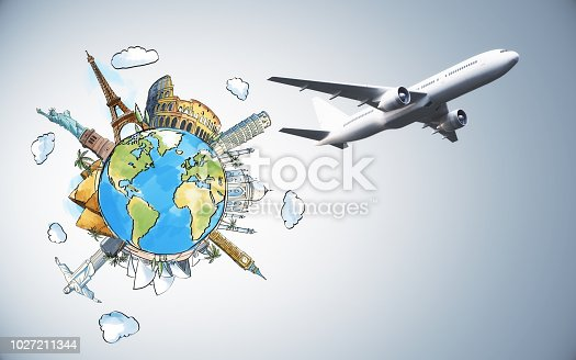 istock Travel and tourism concept 1027211344