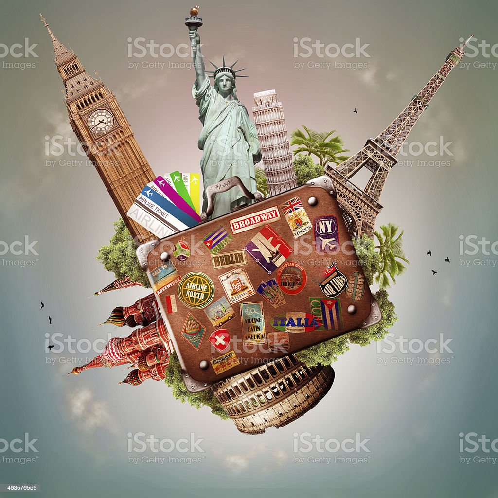 Travel and trip stock photo