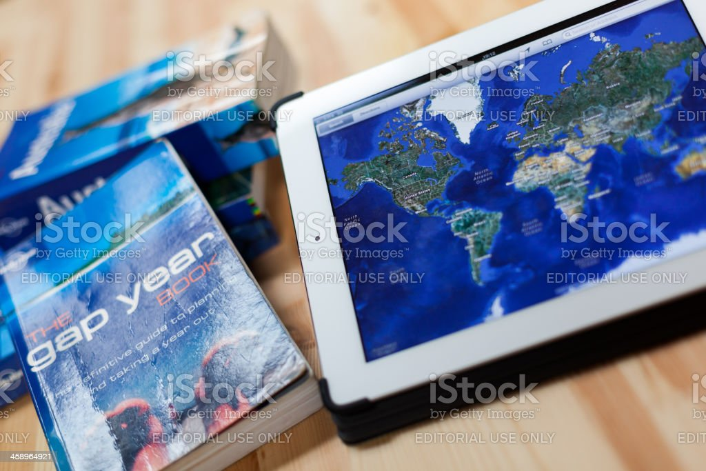 Travel Around the World royalty-free stock photo