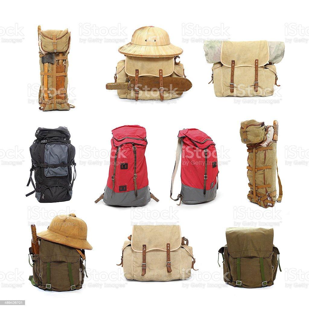 Travel bags. stock photo
