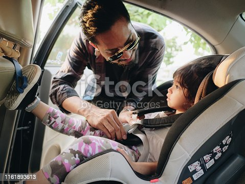 istock Travel by car family trip together vacation 1161893613