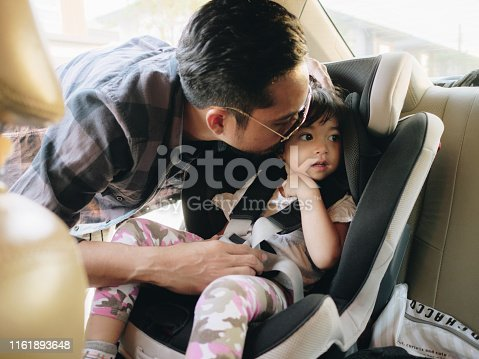 istock Travel by car family trip together vacation 1161893648