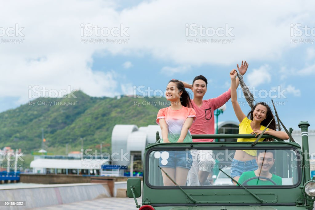 Travel by car royalty-free stock photo