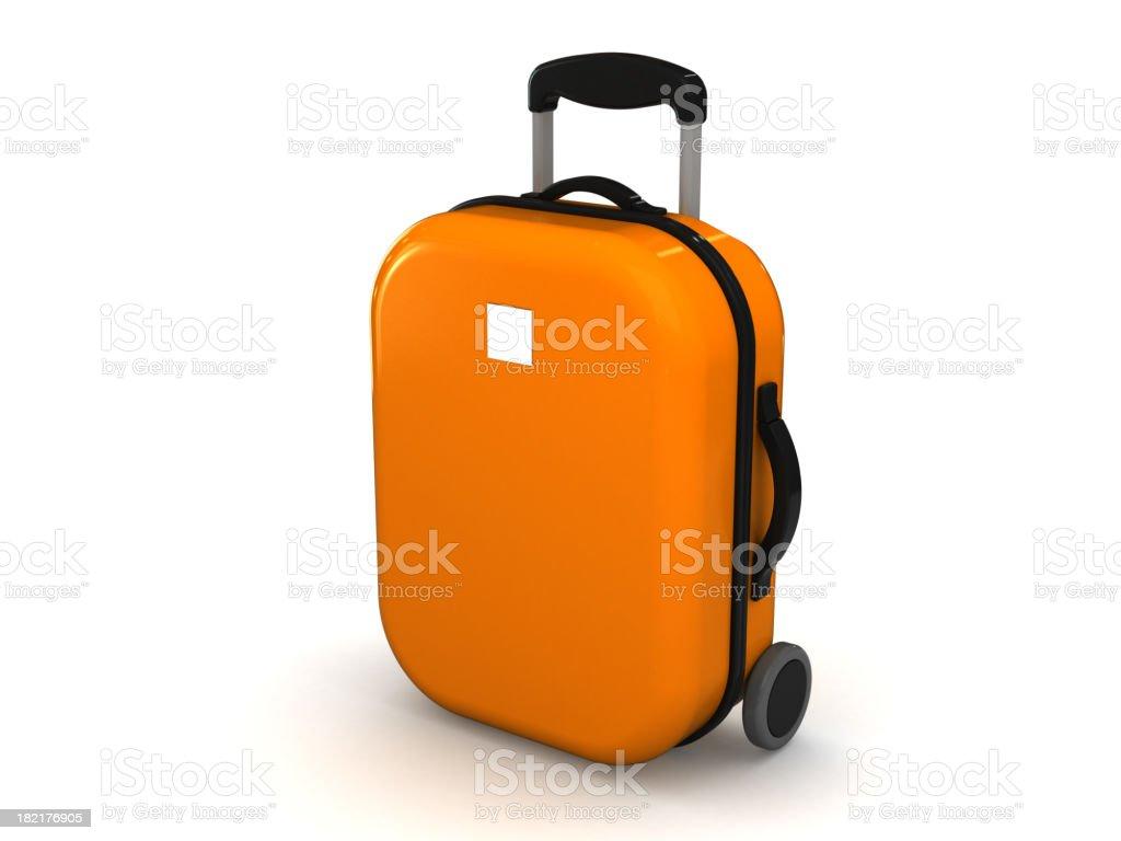 Travel case royalty-free stock photo
