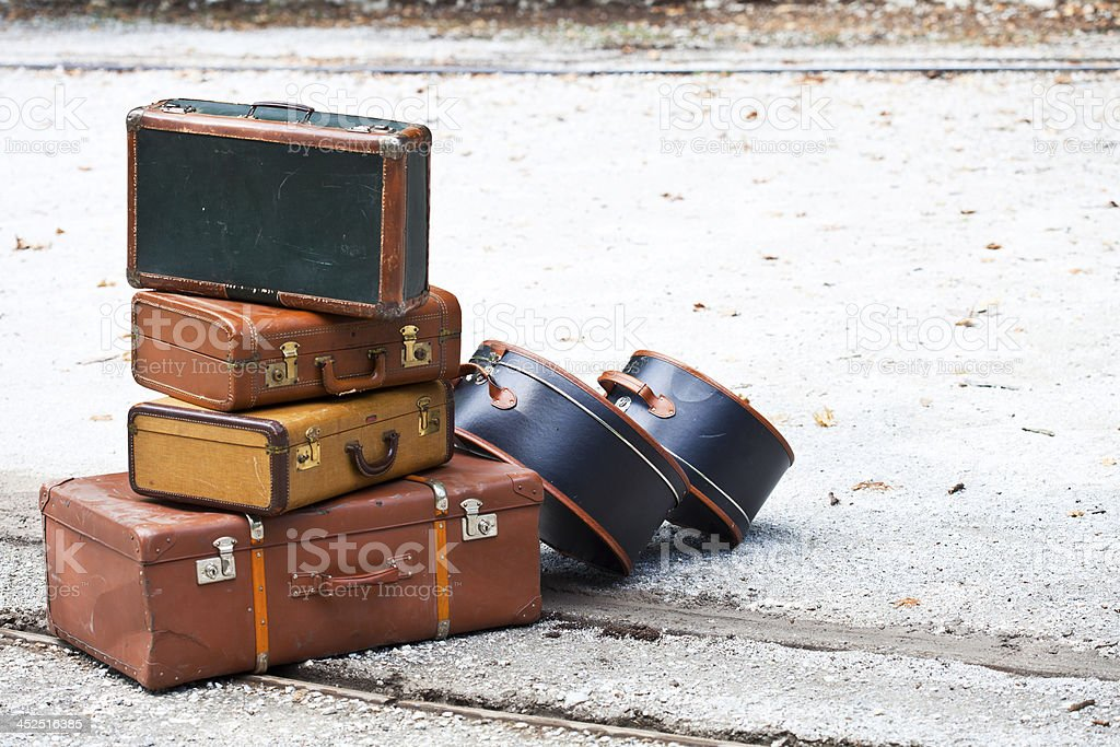 Travel Cases royalty-free stock photo