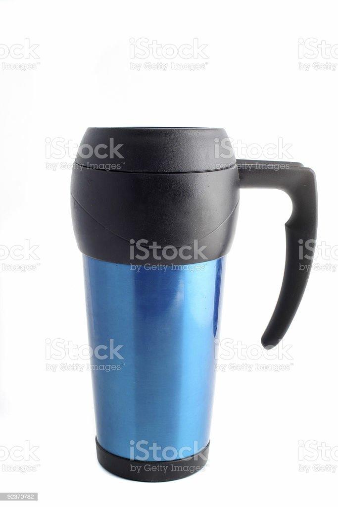 travel coffee mug royalty-free stock photo