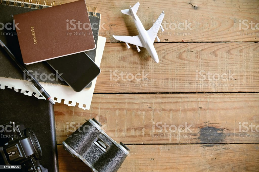 travel concept background stock photo