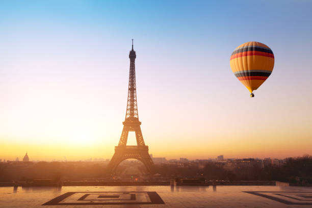 Royalty Free Travel Concept Beautiful View Of Hot Air Balloon In ...