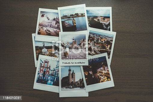 Instant photos from Krakow trip