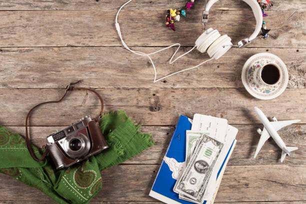 viajes concepto objetos - agente de viajes fotografías e imágenes de stock