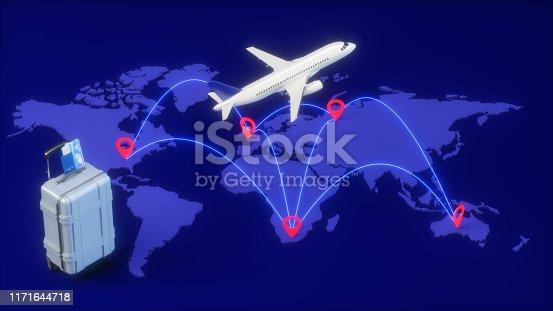 174936437 istock photo Travel concept 1171644718