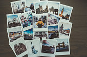 Instant photos from travel destinations