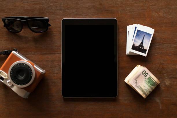 travel concept. - oggetti personali foto e immagini stock