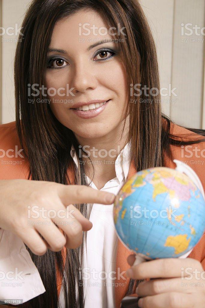 Consultor de viagens - foto de acervo