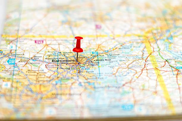 Travel destination - Baltimore stock photo