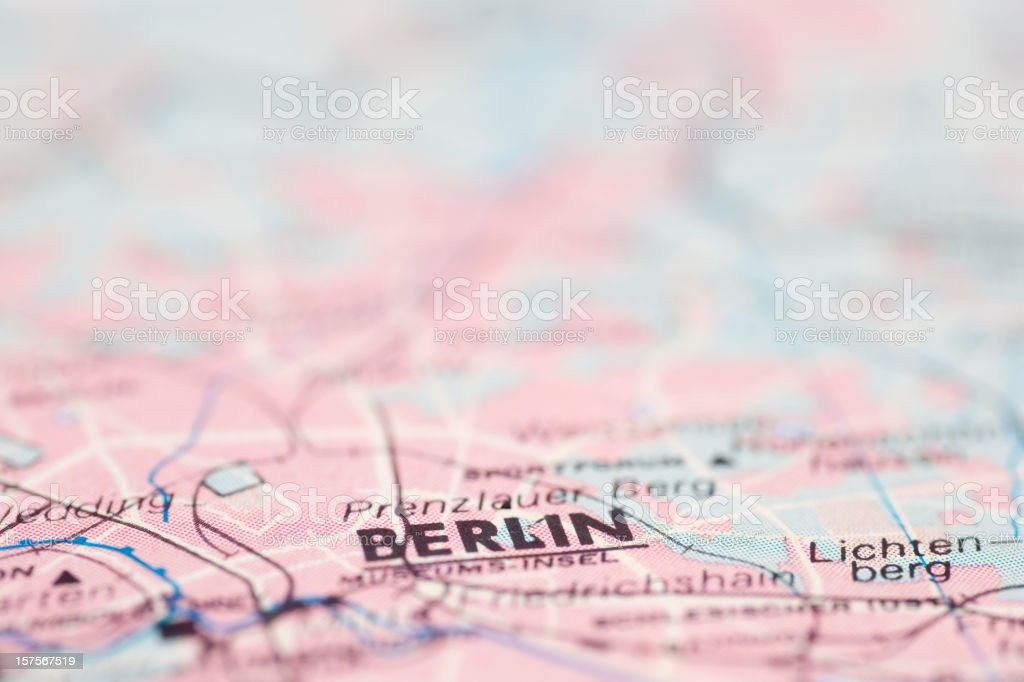 Reiseziel -Berlin, Deutschland – Foto
