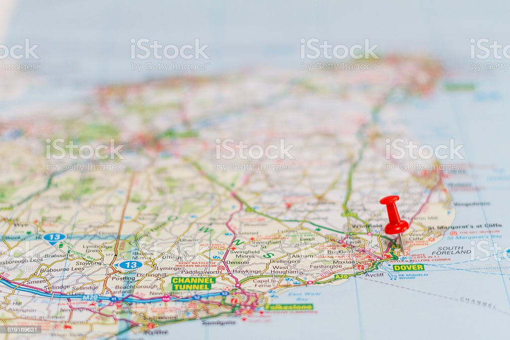 Travel destination - Dover stock photo